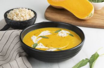 butternut-squah-soup-with-whole-grain-brown-rice