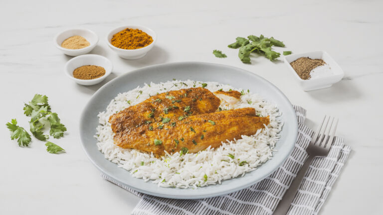 Curried Baked Fish