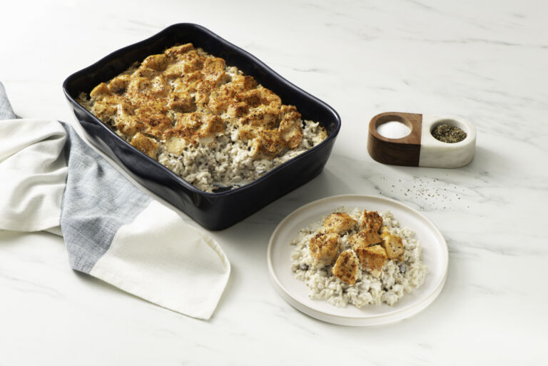 Easy Chicken and Rice Casserole Bake