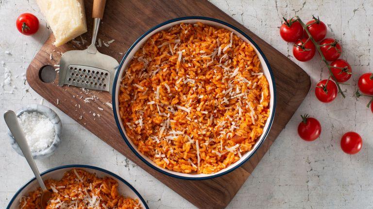 Four Cheese Tomato Risotto
