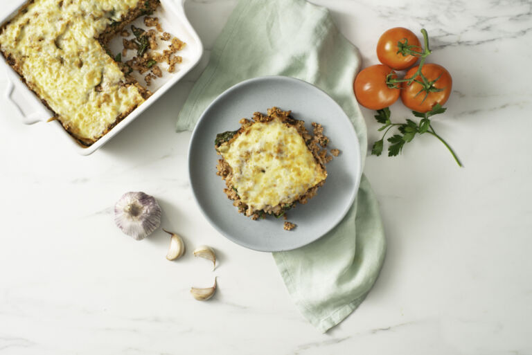 Hidden Spinach Quinoa Sloppy Joe Casserole