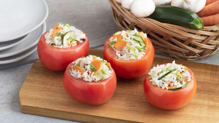 Garden Stuffed Tomatoes