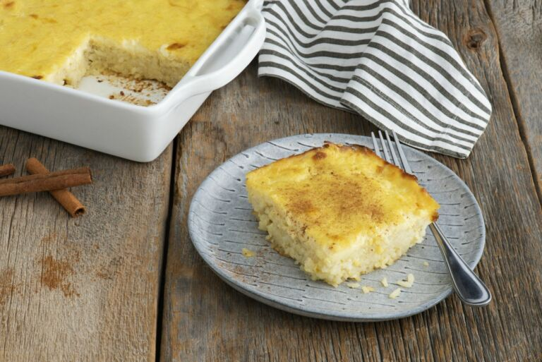 Old-Fashioned Baked Rice Pudding