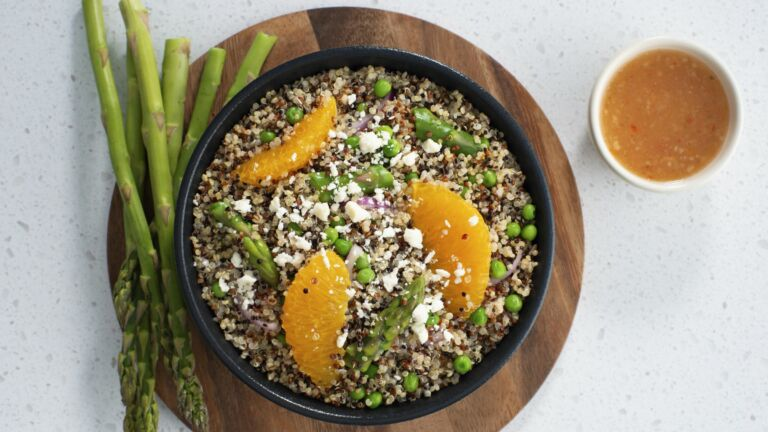 Asparagus & Orange Quinoa Salad