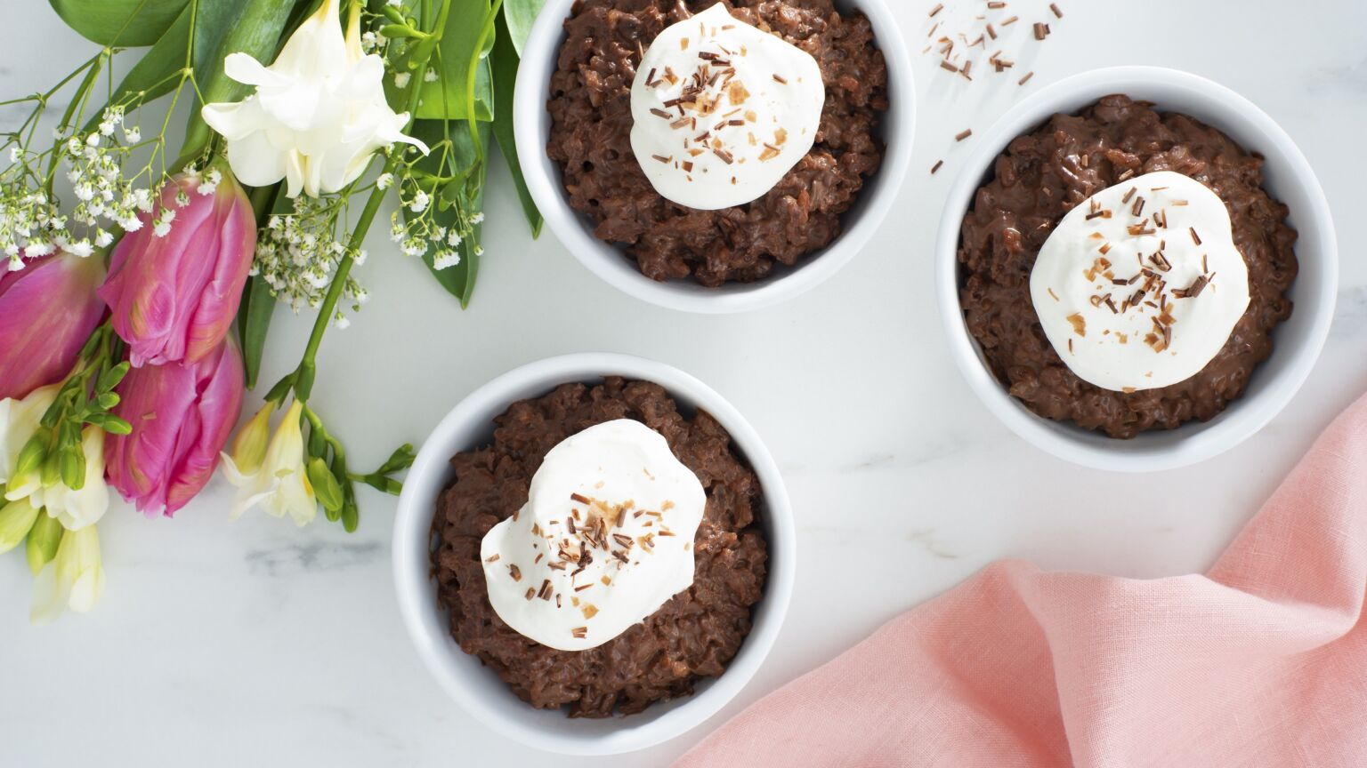 Chocolate Rice Pudding