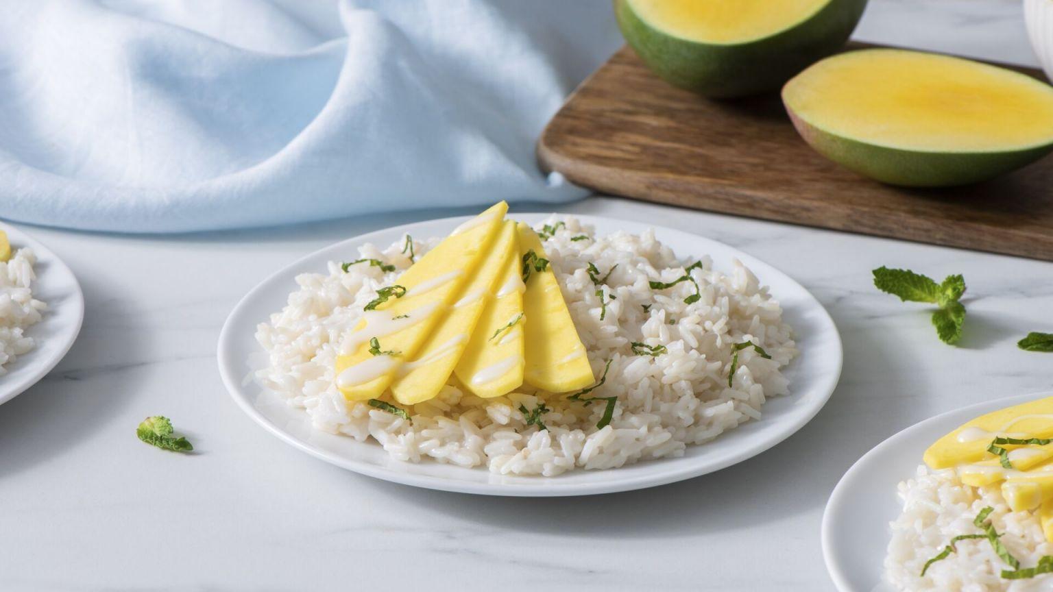 Sweet Jasmine and Mango Rice