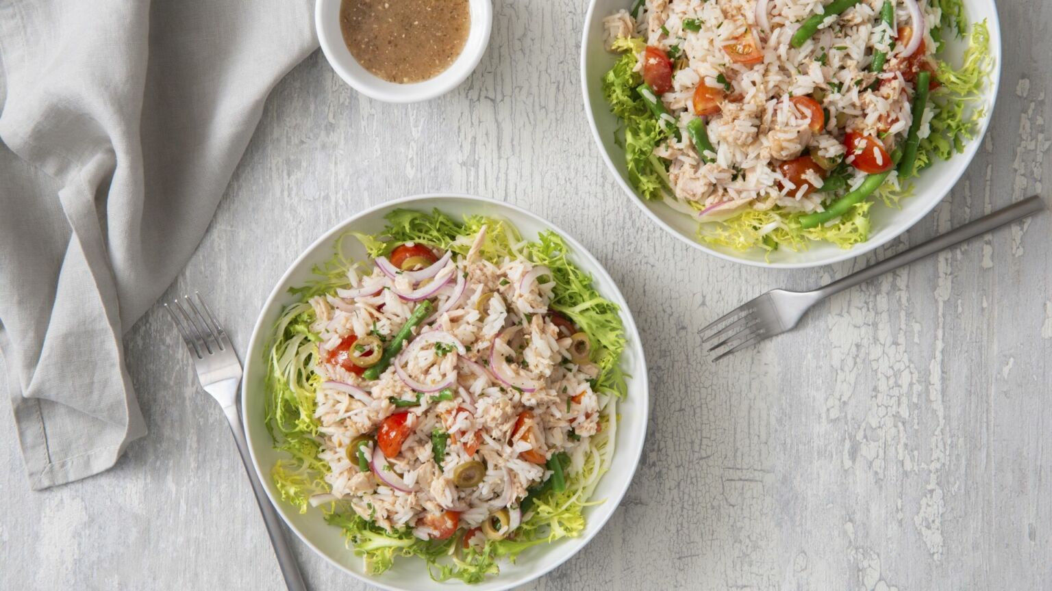 Tuna and Jasmine Rice Salad
