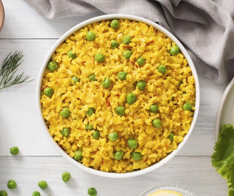 Creamy Saffron Rice Pilaf