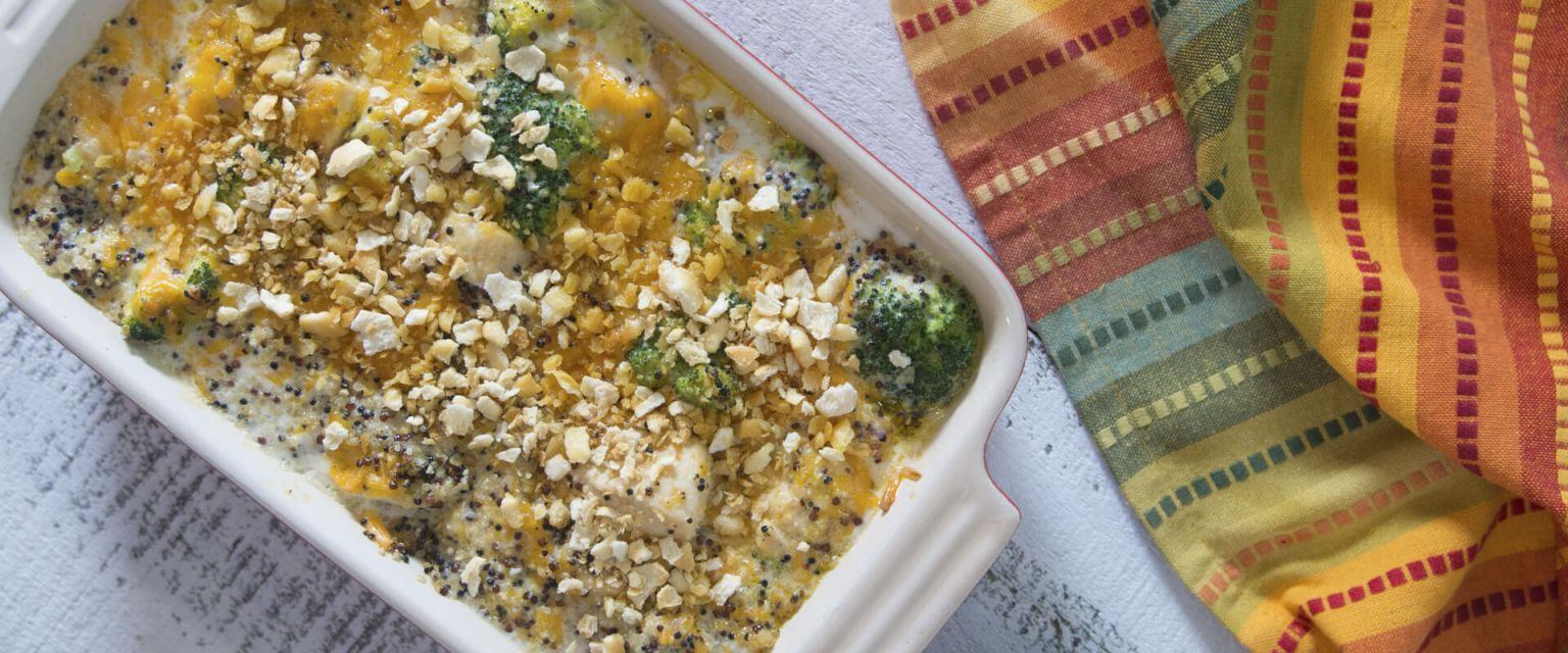 Chicken and Broccoli Casserole with Quinoa