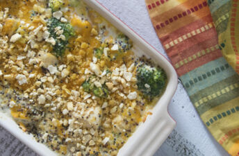 Chicken and Broccoli Casserole with Quinoa