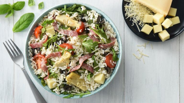 Italian Rice and Antipasto Salad