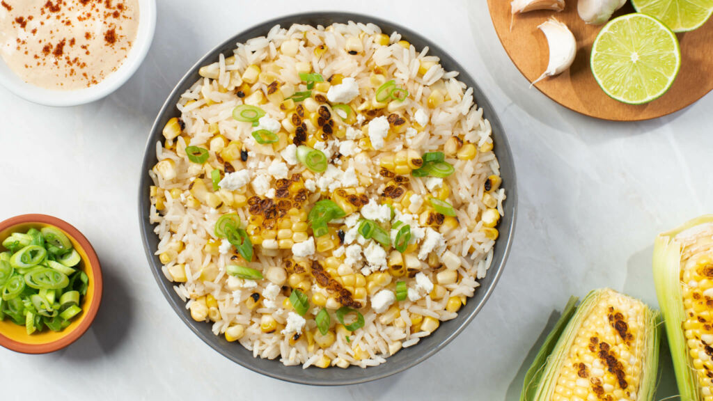Mexican Grilled Corn Salad