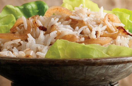 Aromatic Onion Rice with Basmati