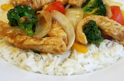 Asian Stir Fry with Jasmine Rice