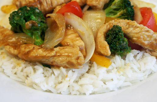 Asian Stir Fry with Jasmine Rice