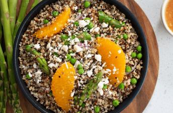 Asparagus and Orange Quinoa Salad