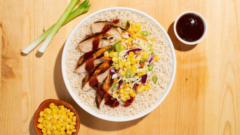 BBQ Chicken Rice Bowl