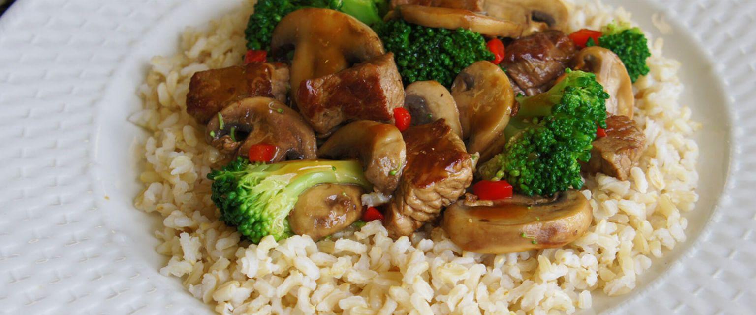 Beef & Broccoli Stir-Fry
