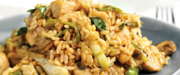 Chicken and Ginger Fried Rice