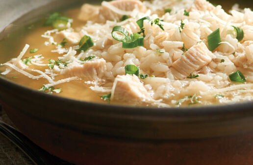 Chicken and Brown Rice Soup
