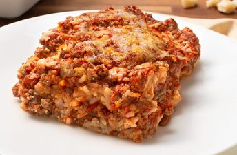 Classic Gluten Free Brown Rice Lasagna
