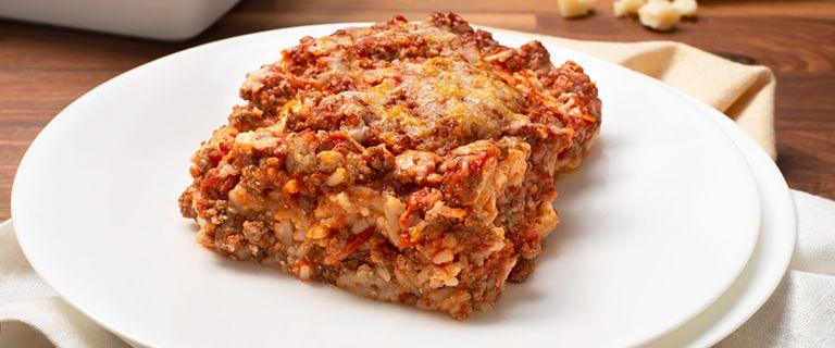 Classic Rice Lasagna