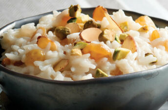 Coconut and Cardamom Rice Pudding with Basmati Rice