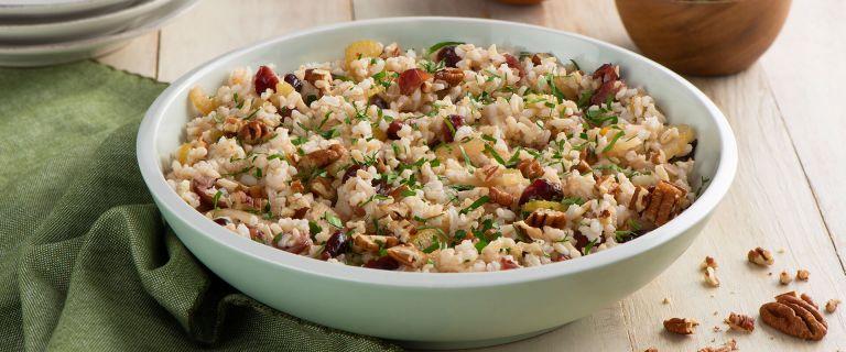 Cranberry Pecan Brown Rice Stuffing