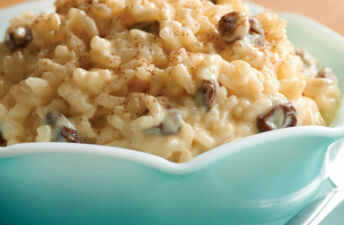 Grandma's Old Fashioned Rice Pudding with Raisins