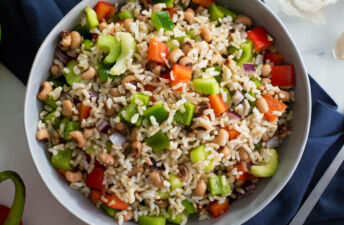 Southern Brown Rice Salad