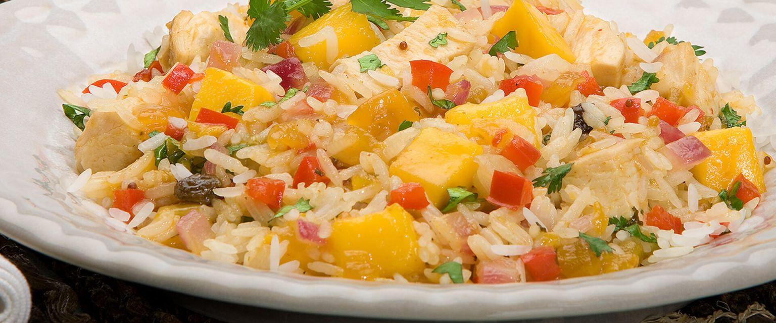 Mango Chicken and Rice