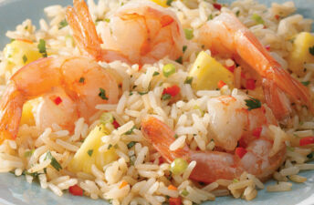 Shrimp Pineapple Thai Jasmine Rice