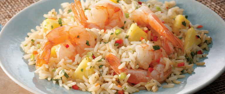 Pineapple and Shrimp Thai Fried Rice