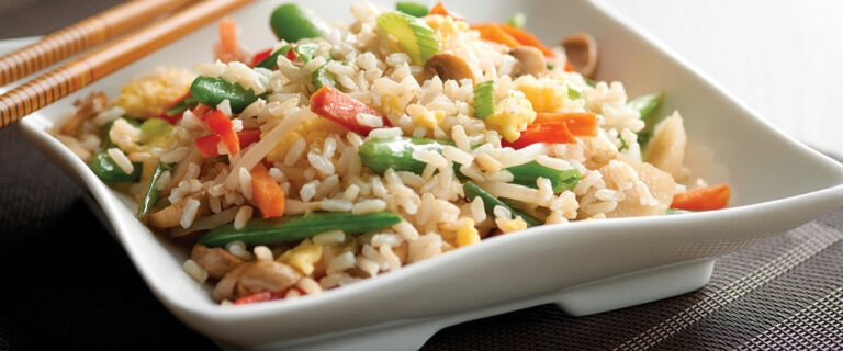 Quick Vegetable Fried Rice