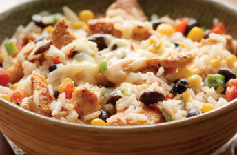 Santa Fe Chicken and Brown Rice with Black Beans