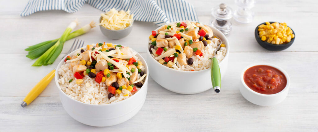 Southwestern Chicken and Rice Bowl