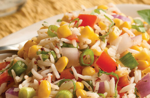 Summer Corn and Basmati Rice Salad