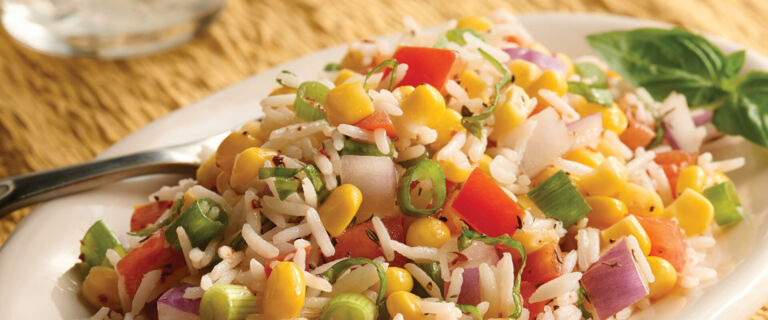Summer Corn and Rice Salad