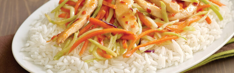 Sweet and Spicy Apricot Chicken