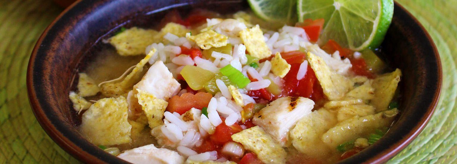Tortilla Rice Soup