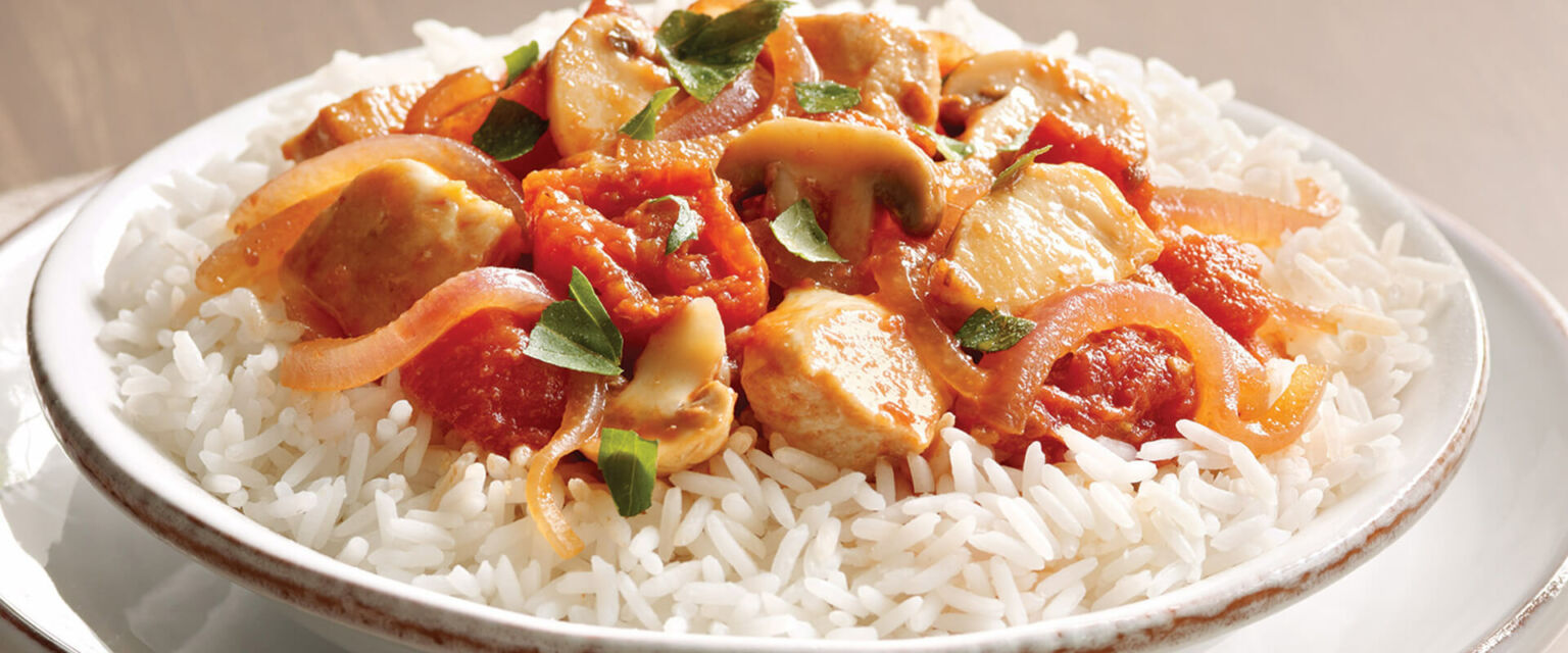 Tuscan Chicken with Tomatoes and Rice