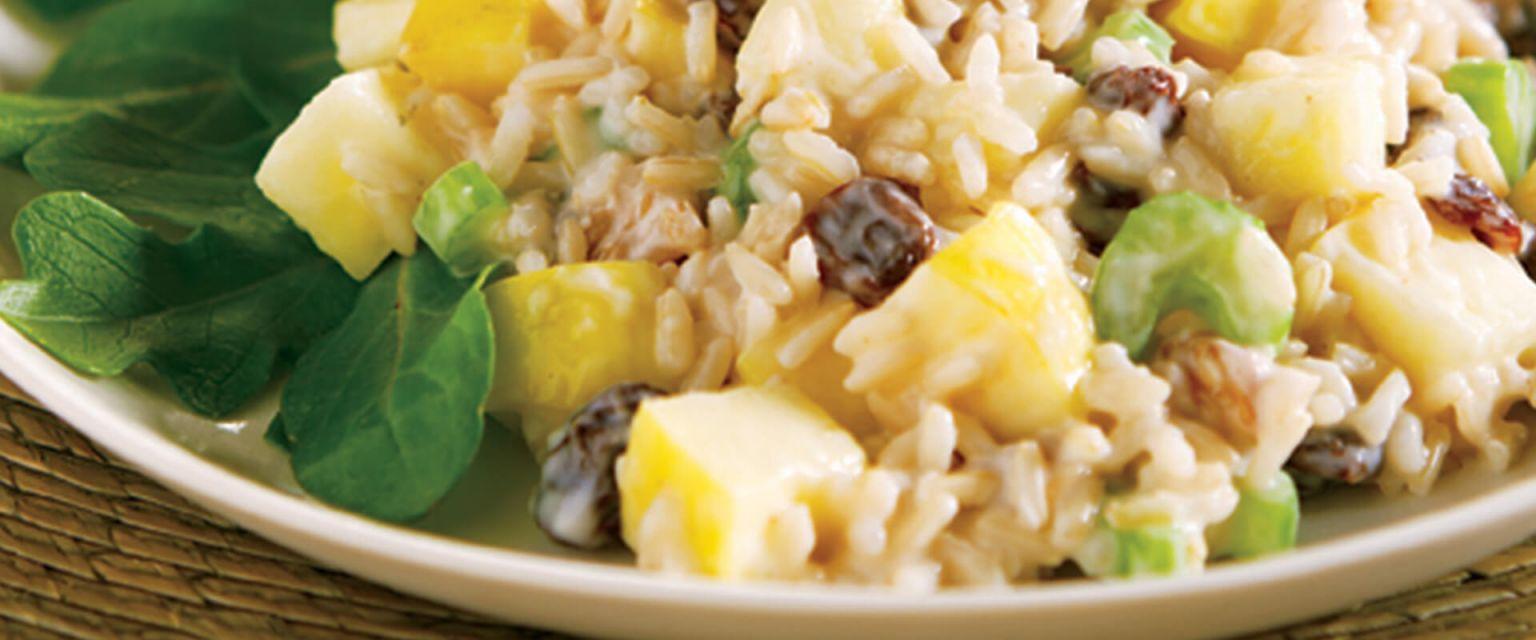Waldorf Brown Rice Salad
