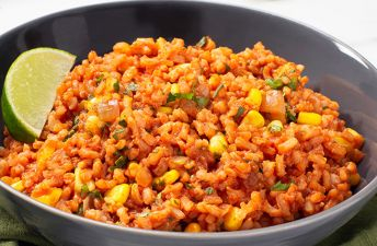 Whole Grain Spanish Rice with Brown Rice