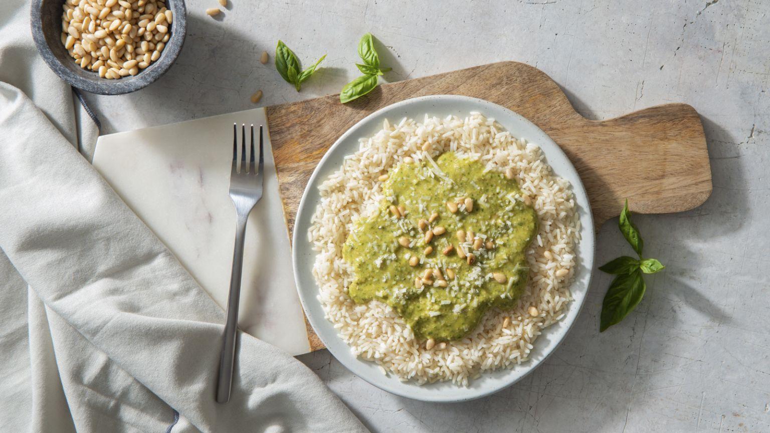Aromatic Pesto Rice
