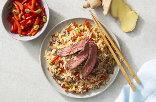 asian-style-steak-with-mushrooms-and-jasmine-rice