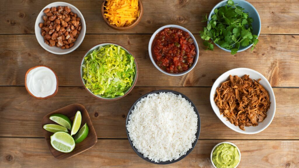 Southwestern inspired flavors with rice