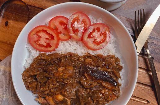 Liberian Okra soup
