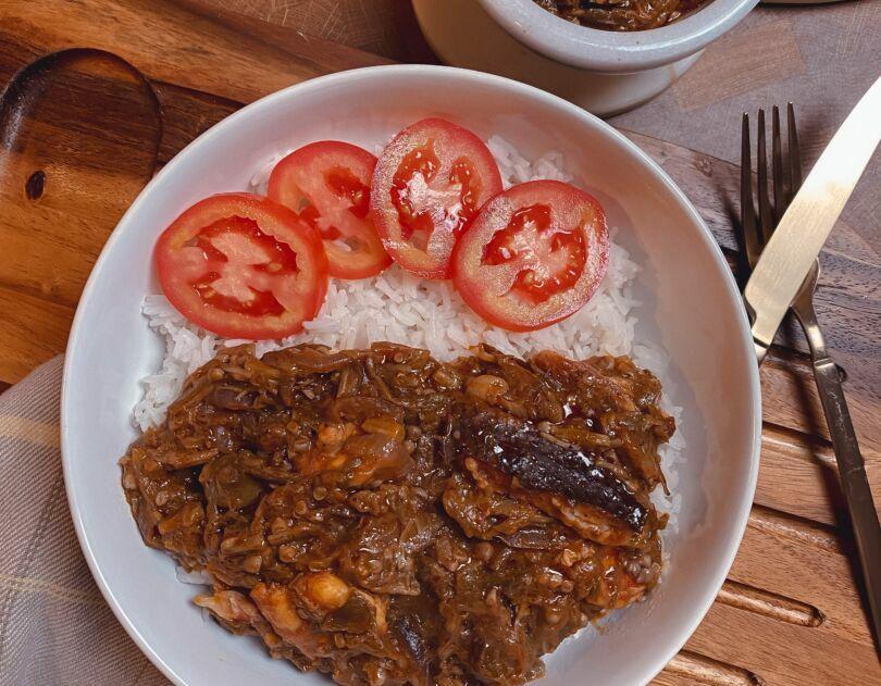 Okro Soup (Liberian Okra Soup)