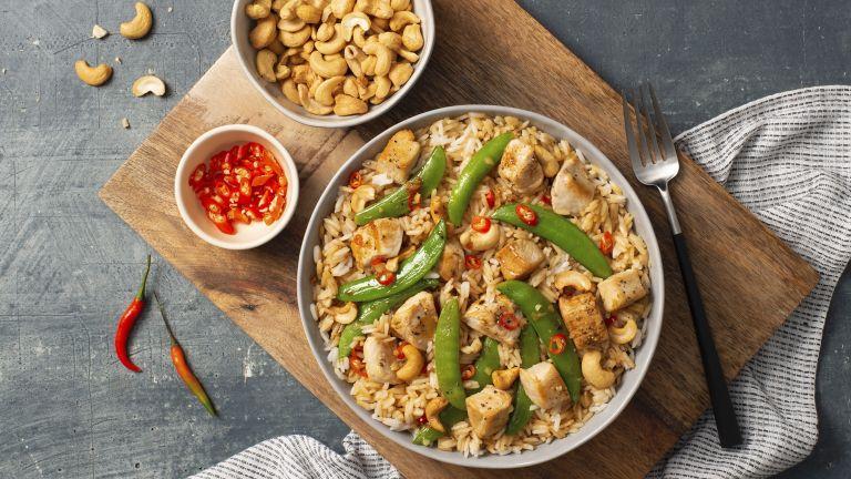 Thai Cashew Chicken Fried Rice