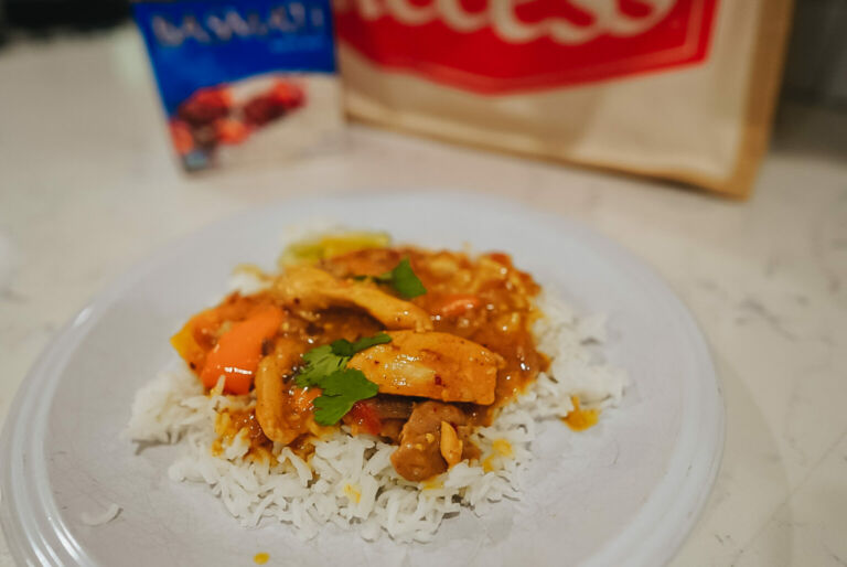 Coconut Chicken Curry with Basmati